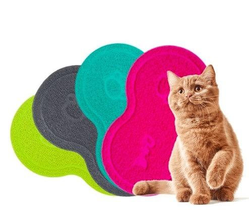 Kedi Paspası Kalp Şeklinde 26x45 cm