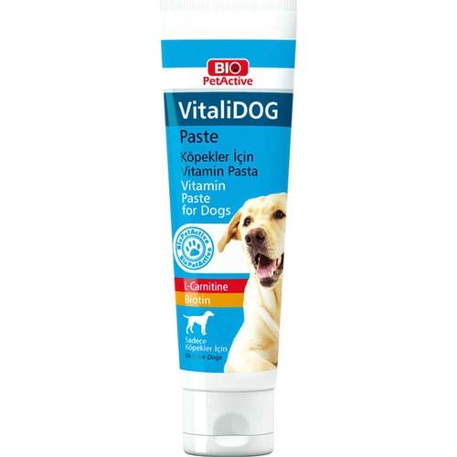 Bio PetActive Vitalidog Paste Köpekler için Vitamin 100 ml