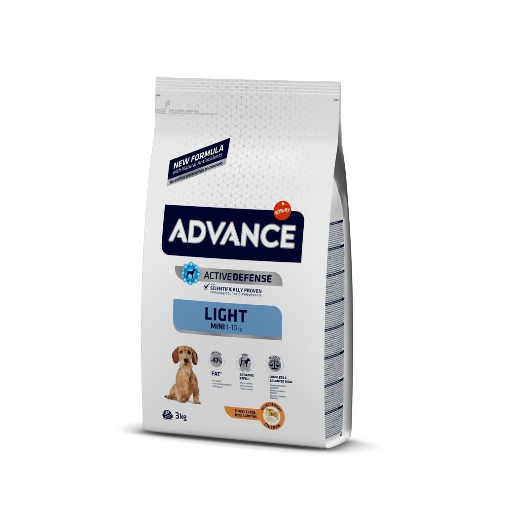 Advance Küçük Irk Light Köpek Maması 3 Kg