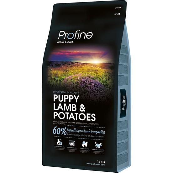 Profine Puppy Lamb Kuzu EtliPatatesli Yavru Köpek Mamasi 15 KG