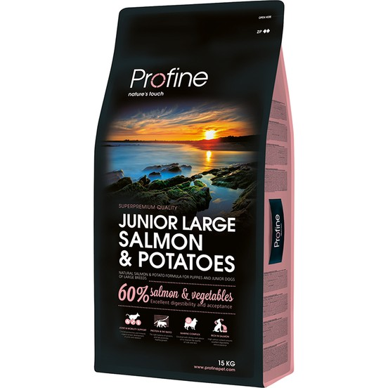 Profine Junior Large Somon Ve Patatesli Yavru Köpek Maması 15 Kg