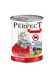 Perfect Sığır Etli Kedi Konservesi 415 Gr