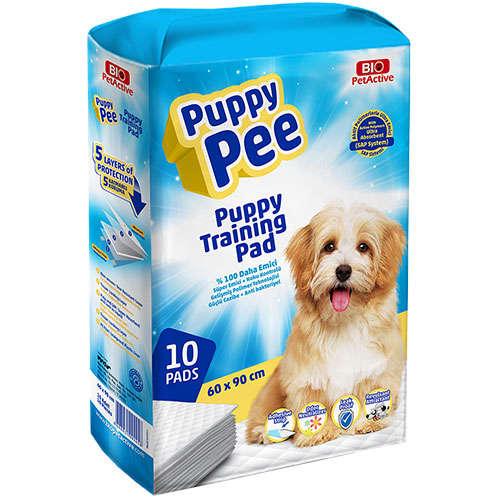 Bio Puppy Pee Tuvalet Eğitim Çişi Pedi 60x90 Cm (10 Adet)