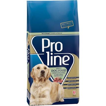 ProLine Kuzu Etli Yetişkin Köpek Maması 15 Kg