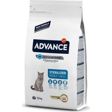 Advance Hindili Kısırlaştırılmış Yetişkin Kedi Maması 1,5 Kg