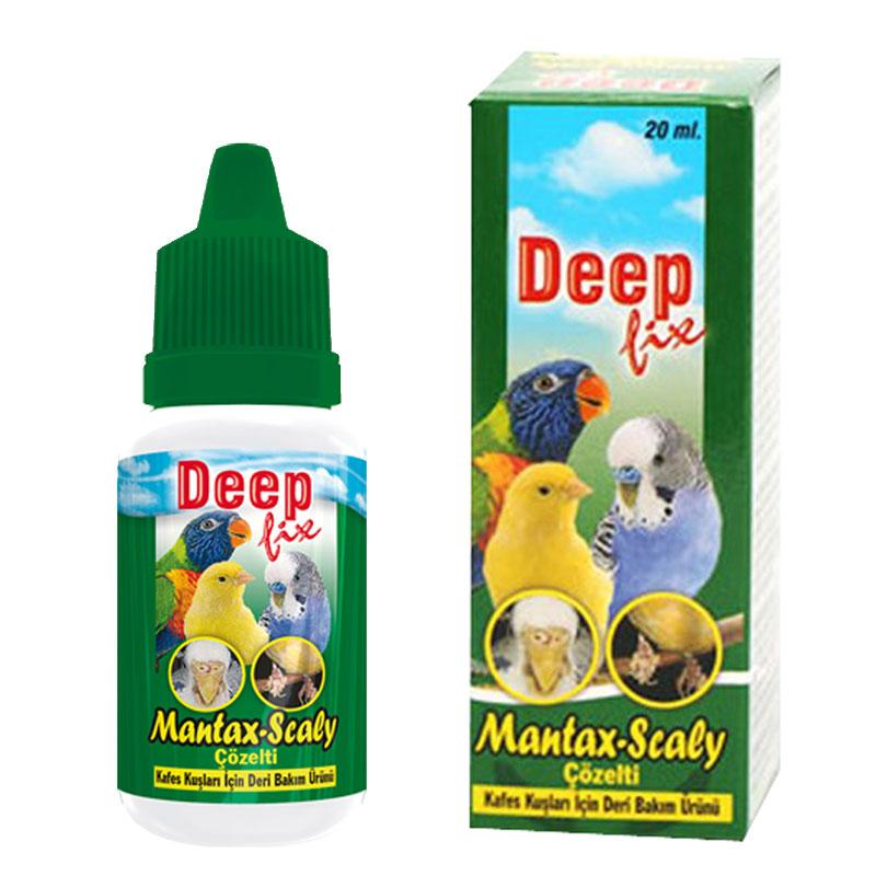 Deep Mantax-Scaly Kuşlar İçin Deri Bakım Ürünü 20 Ml