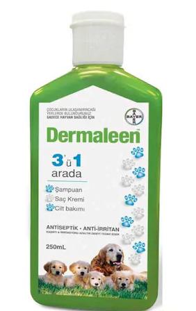 Dermaleen Medicated Itch Wash Köpek Şampuanı 250 Ml