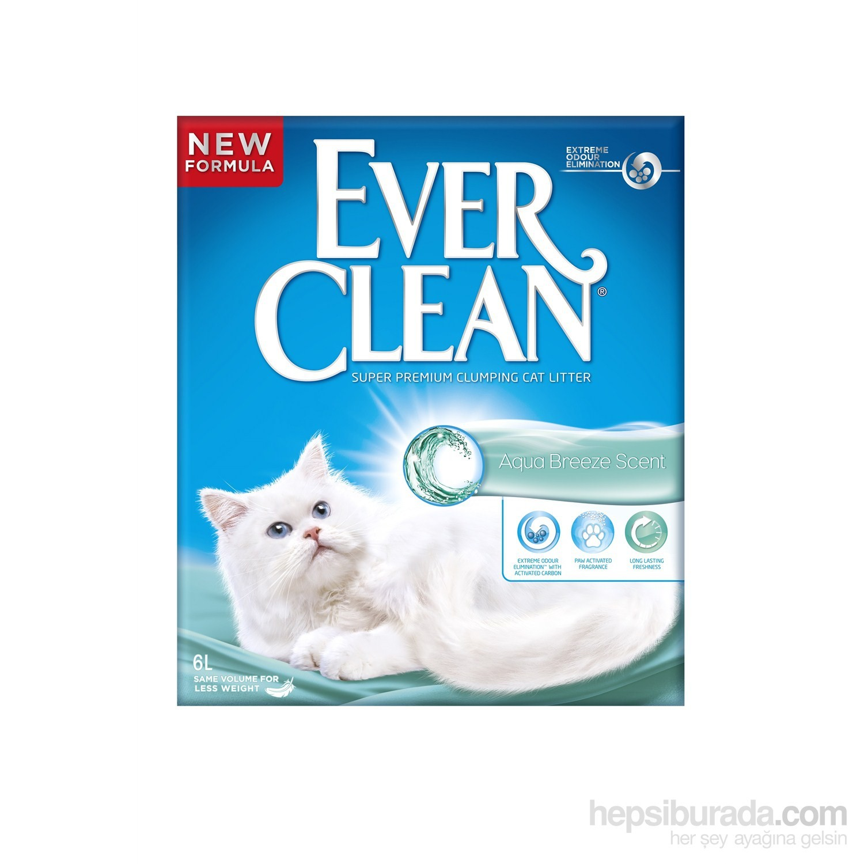 Ever Clean Aqua Breeze  (Okyanus Kokulu) Kedi Kumu 6 Lt