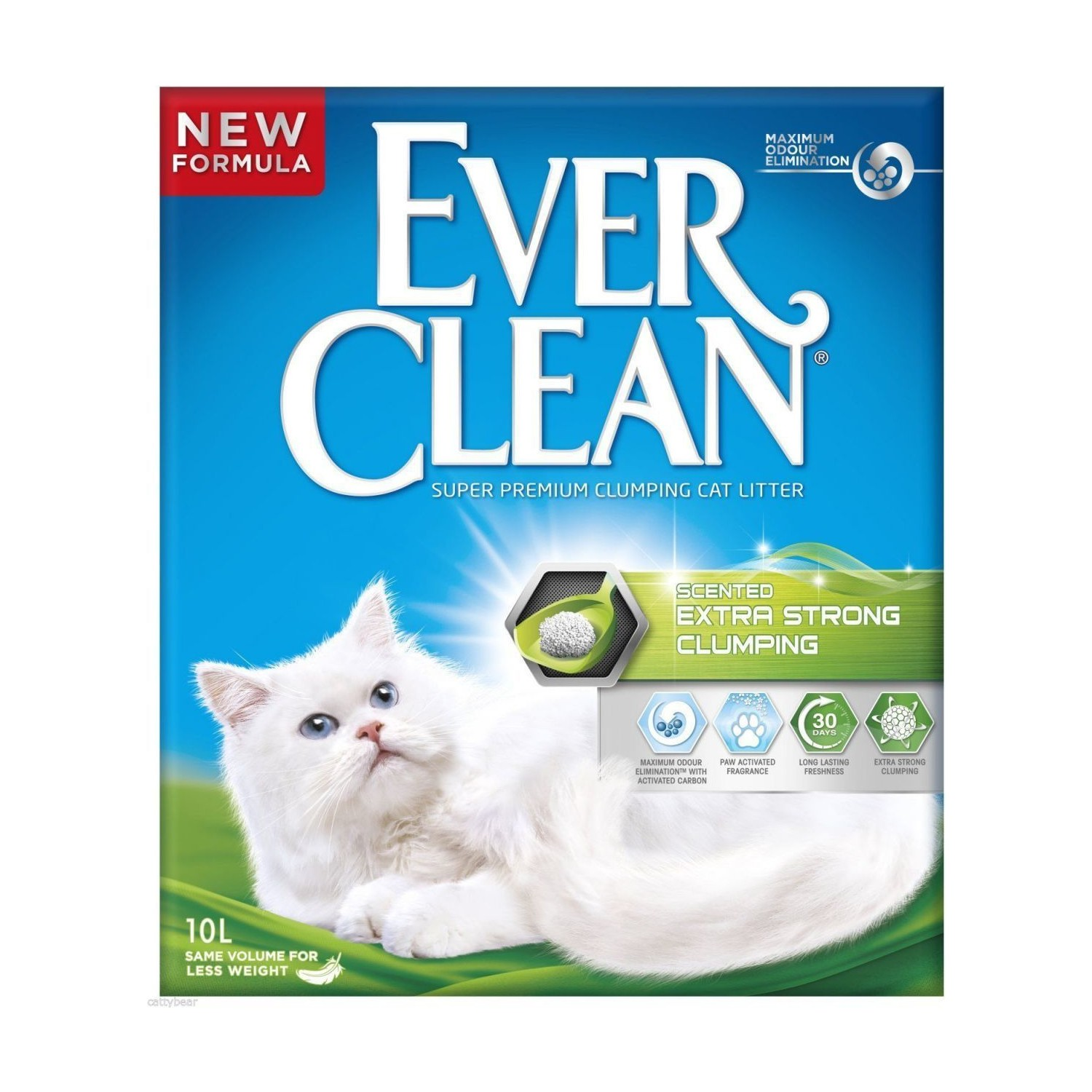 Ever Clean Extra Strong Scented Kokulu Kedi Kumu 10 Lt
