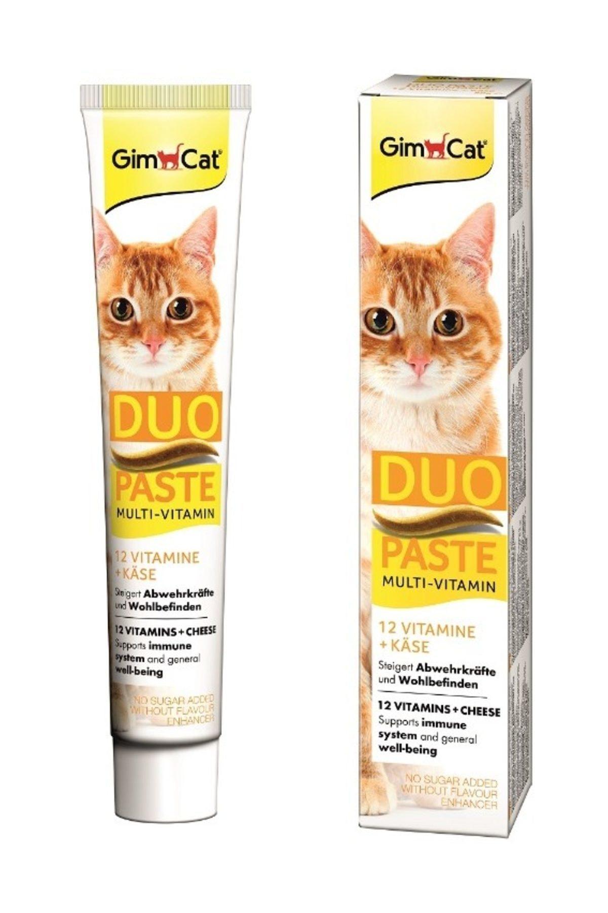 Gimcat Multi Vitamin Paste Peynirli Kedi Macunu 50 Gr