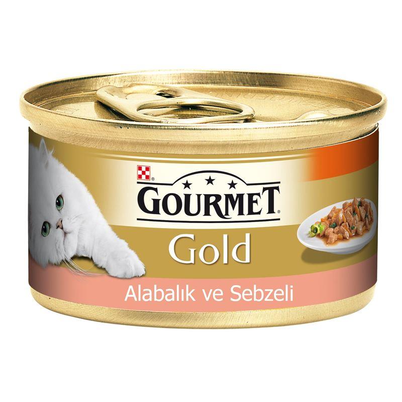Gourmet Gold Alabalık Ve Sebzeli Parça Etli Kedi Maması 85 Gr