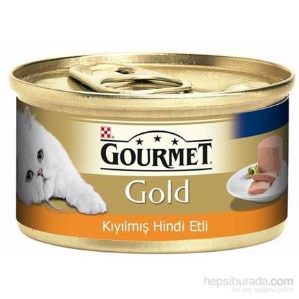 Gourmet Gold Hindi Etli Kıyılmış Kedi Maması 85 Gr