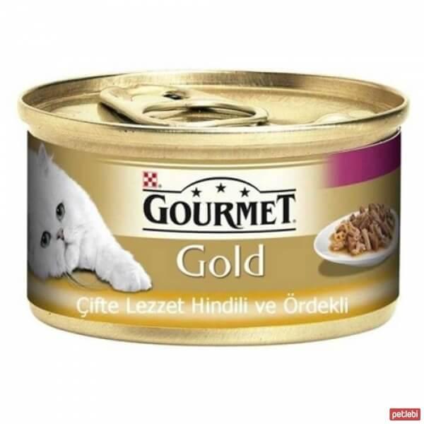 Gourmet Gold Hindili Ördekli Parça Etli Kedi Maması 85 Gr