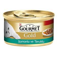 Gourmet Gold Somon Ve Tavuklu Parça Etli Kedi Maması 85 Gr