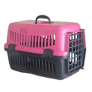 Pratik Kedi-Köpek Taşıma Kafesi 48,5x32x32 cm Pembe