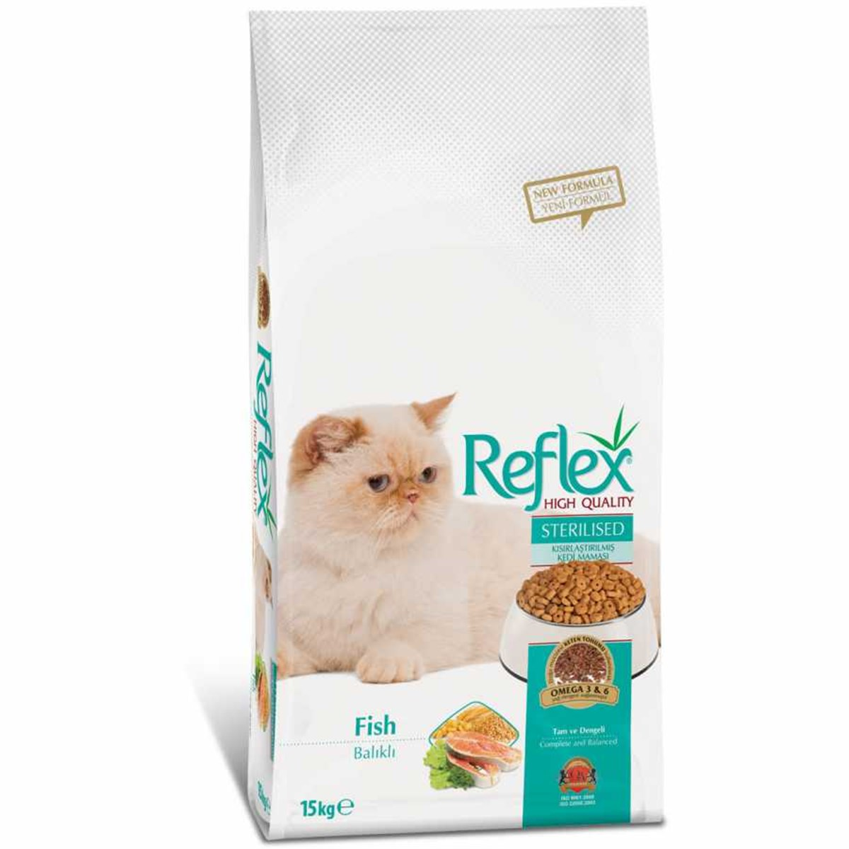 Reflex Kısırlaştırılmış Yetişkin Kedi Maması 15 kg