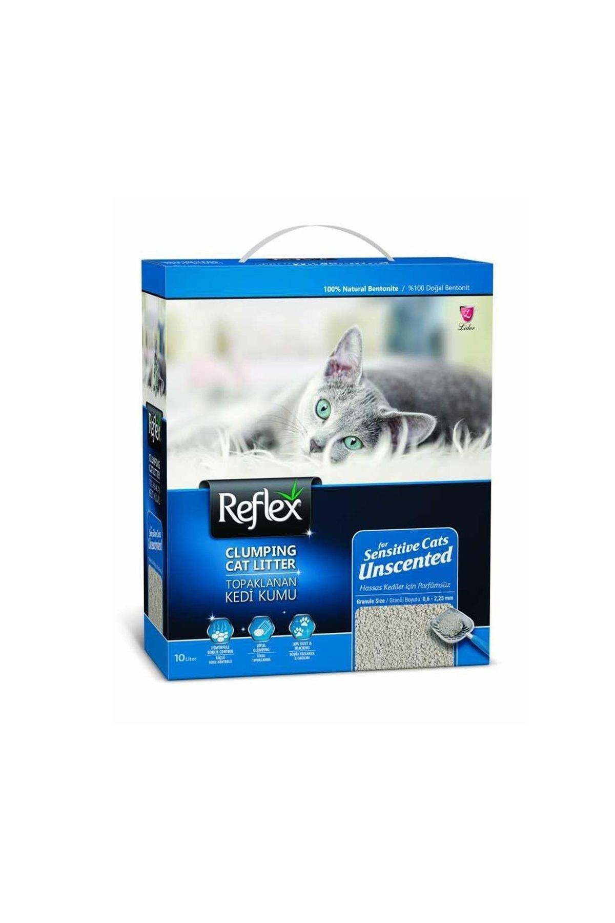 Reflex Sensitive Parfümsüz Hassas Kedi Kumu 10 Lt