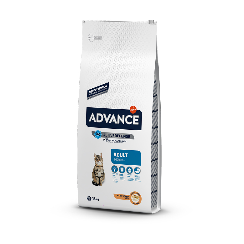 Advance Adult Tavuklu Pirinçli Yetişkin Kedi Maması 15 Kg