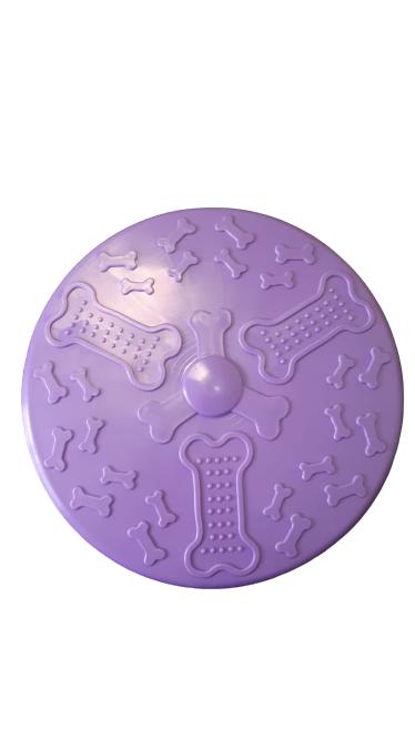 Multimagic Köpek Oyuncağı Frizbi Sert Plastik Mor 22 cm