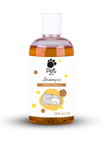 Pet Love Eco Kedi  Köpek Şampuan Cookie  Vanilla 250 ml