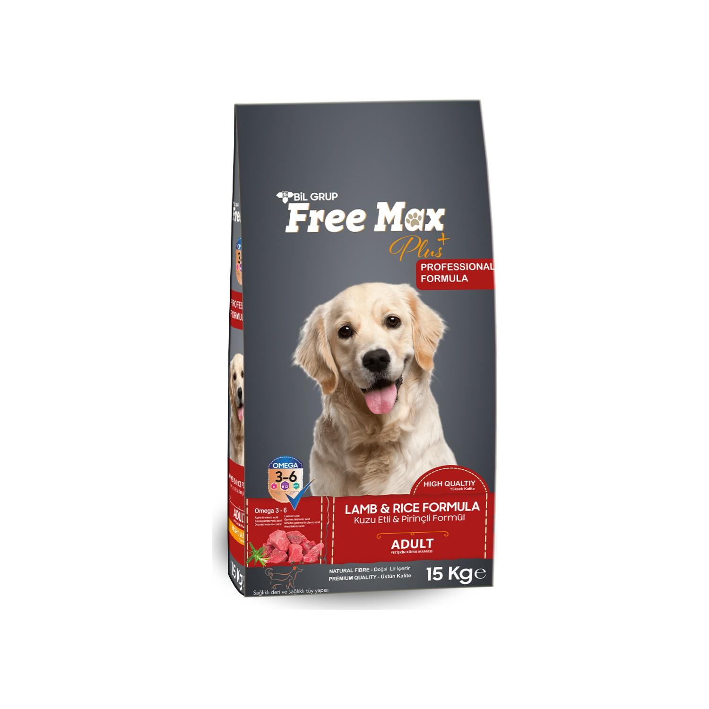 Freemax Kuzu Etli Köpek Maması 15 Kg