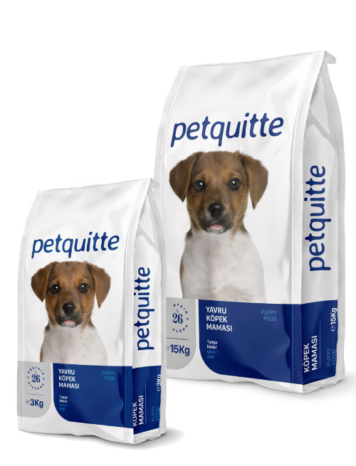 Petquitte Yavru Puppy Köpek Maması 15 Kg