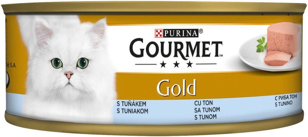 Gourmet Gold Ton Balıklı Kıyılmış Kedi Maması 85 Gr