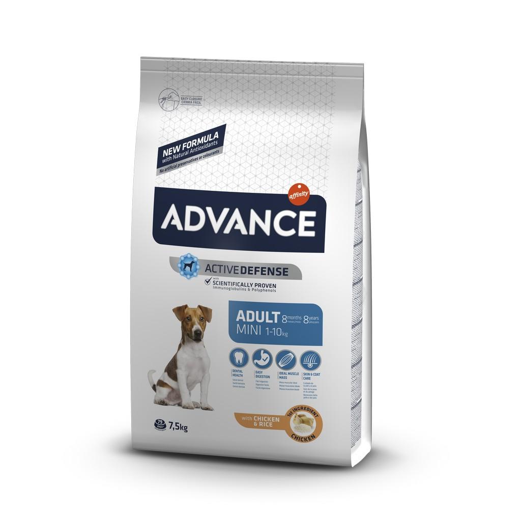 Advance Mini Adult Küçük Irk Yetişkin Köpek Maması 7.5 Kg