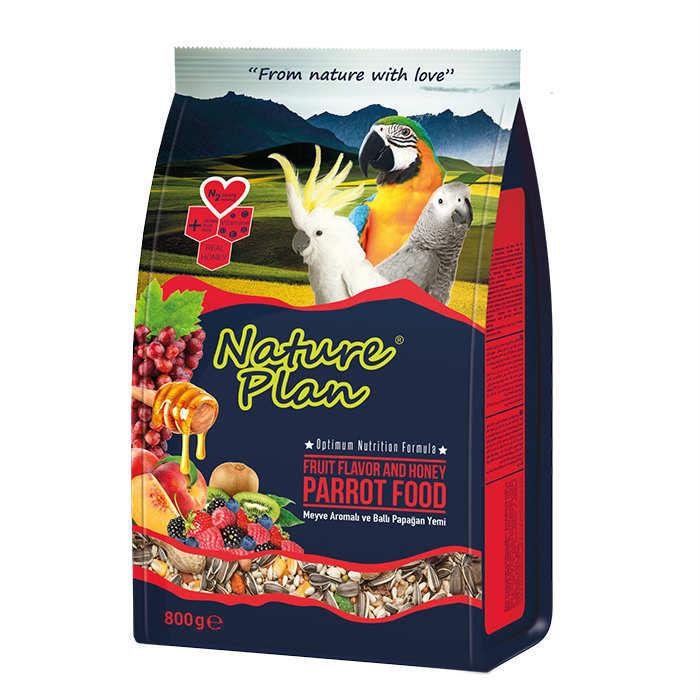 Nature Plan Papağan Yemi 800 gr