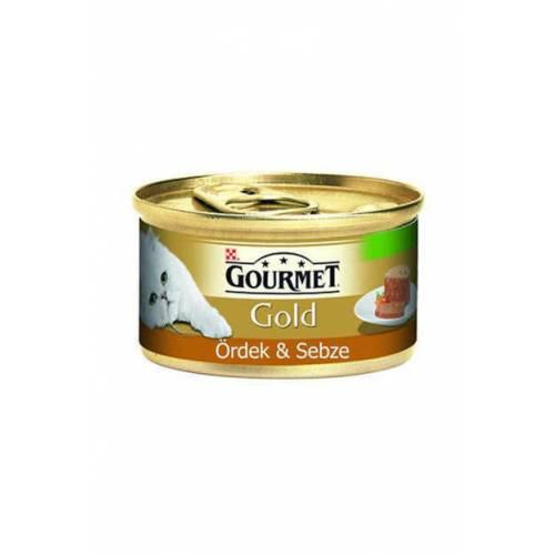 Gourmet Gold Ördek Havuç Ispanaklı Kıyılmış Kedi Maması 85 Gr