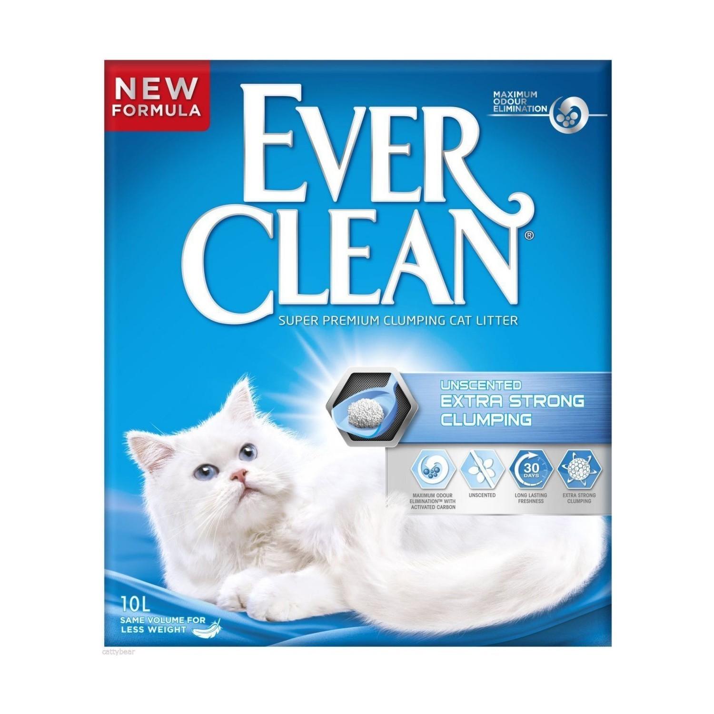 Ever Clean Extra Strong Unscented Kokusuz Kedi Kumu 10 Lt