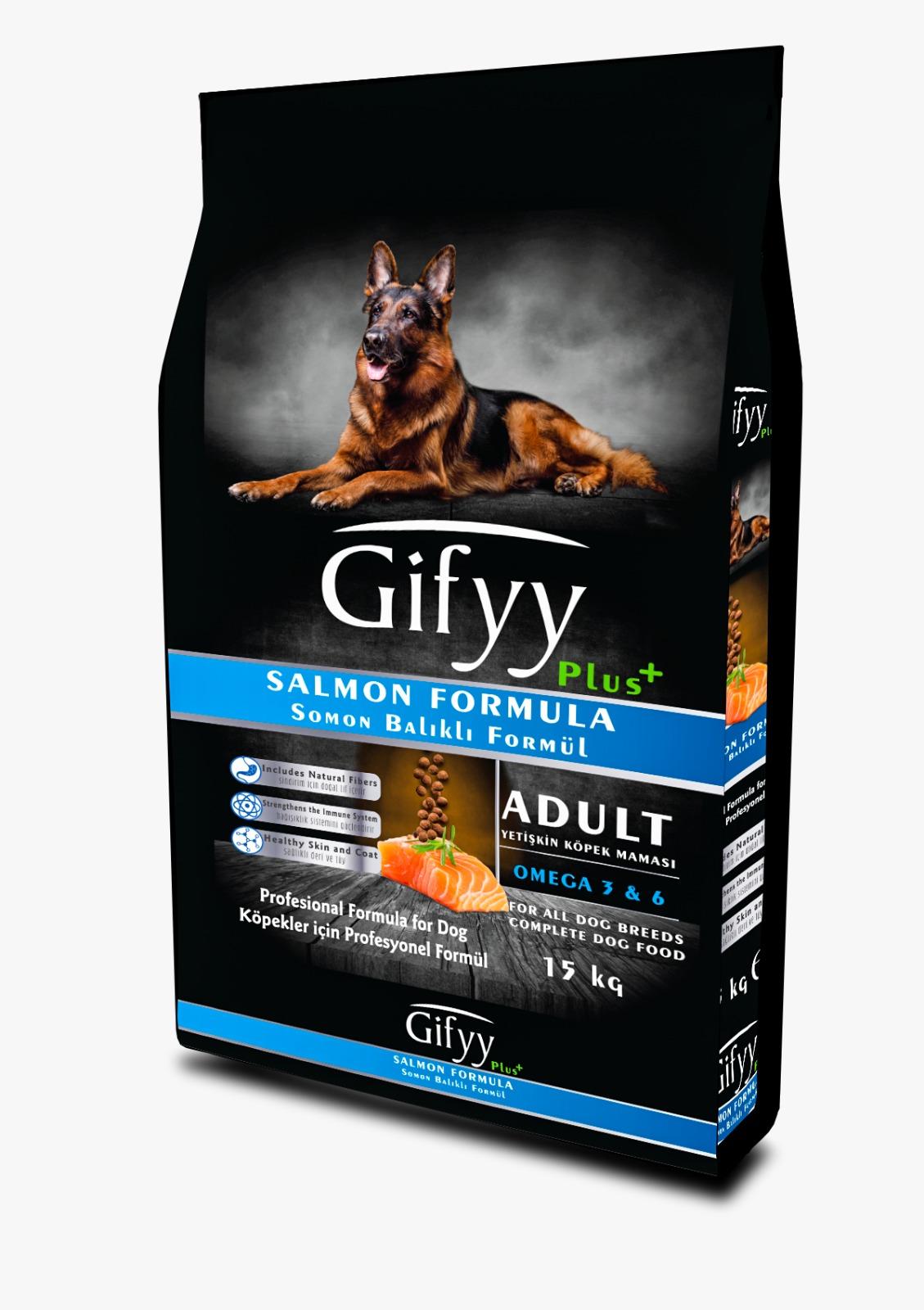 Gify Somonlu Premium Yetişkin Köpek Maması 15Kg