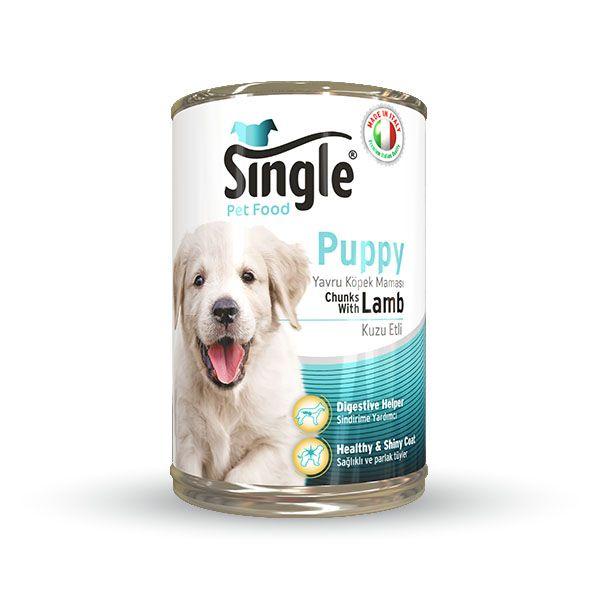 Single Pupy Yavru Köpek Konservesi 415gr