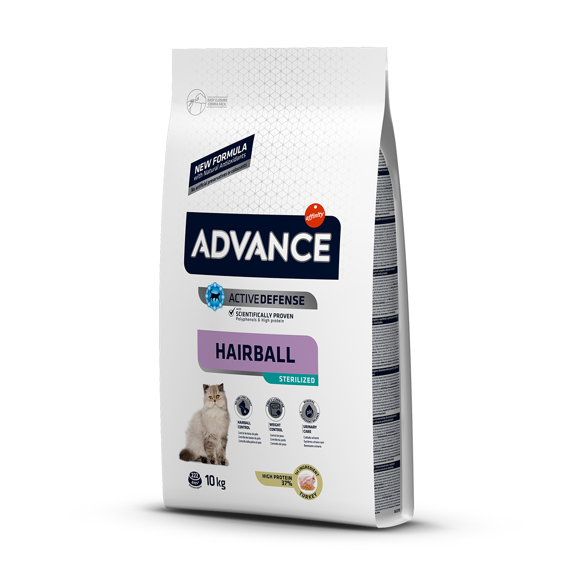 Advance Hairball Hindili Kısırlaştırılmış Kedi Maması 10 kg