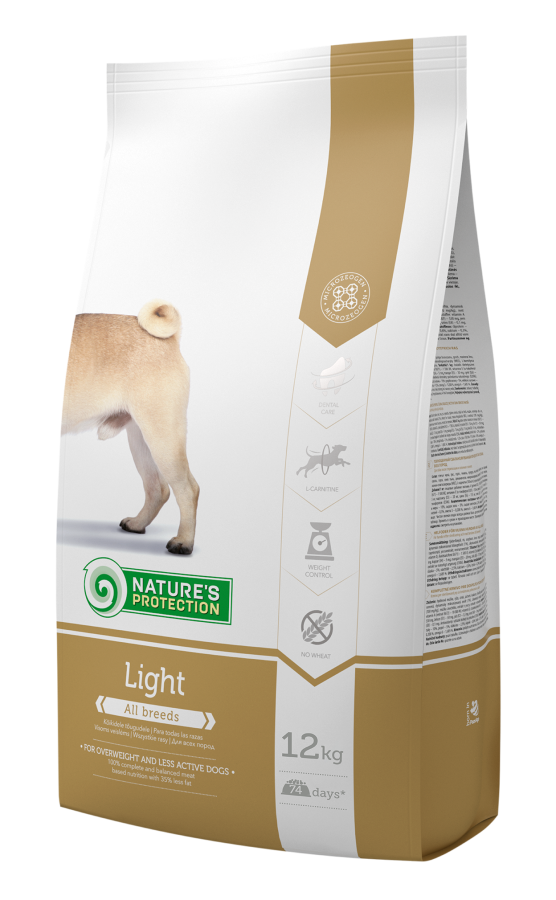 Natures Protection Light Kalorisi Düşürülmüş Köpek Maması 12 Kg