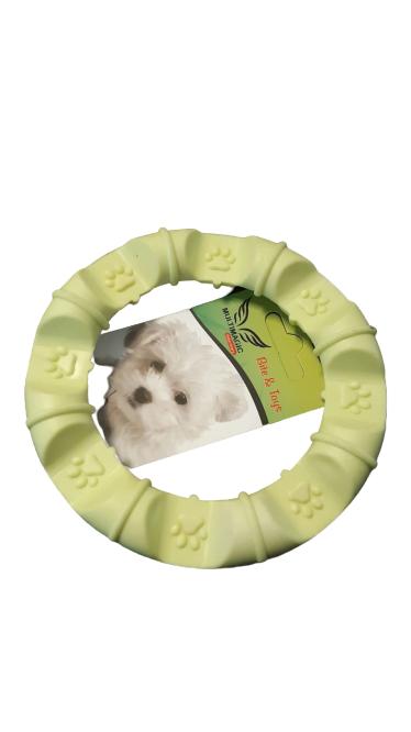 Multimagic Dental Köpek Diş Kaşıma Oyuncağı Yuvarlak Sarı 12 cm