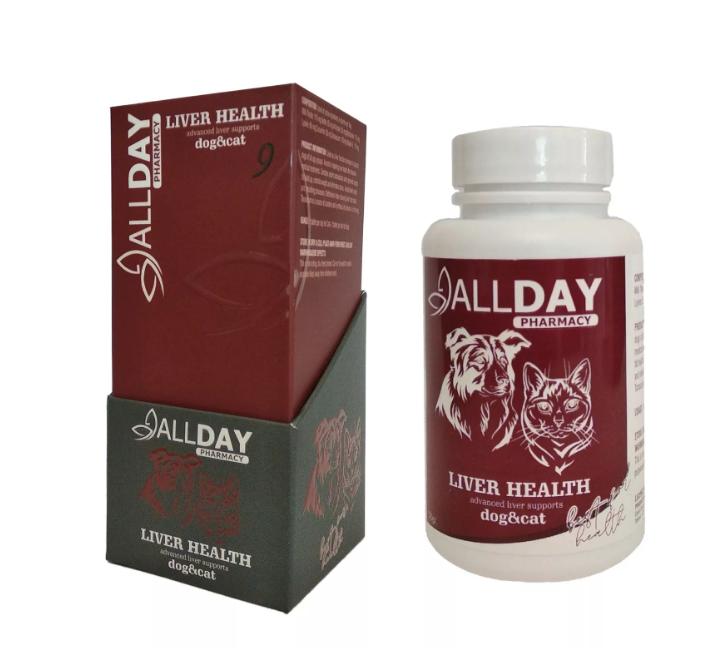 AllDay Liver Health Kedi  Köpek Tablet 75 Gr