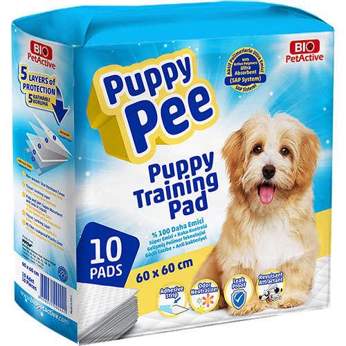 Bio Puppy Pea Tuvalet Eğitim Çişi Pedi 60x60 Cm (10 Adet)