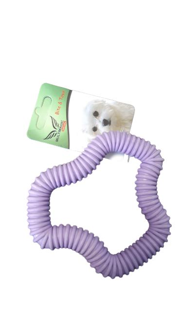 Multimagic Dental Köpek Diş Kaşıma Oyuncağı Altıgen Mavi 12 cm