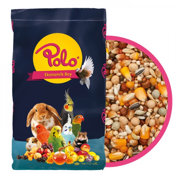 Polo Karışık Premium Güvercin Yemi 1 Kg Açık