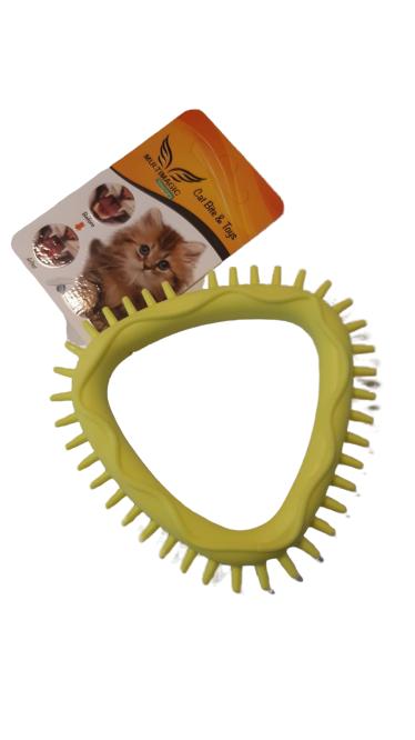 Multimagic Kedi Diş Kaşıma Oyuncağı Sarı 10 cm