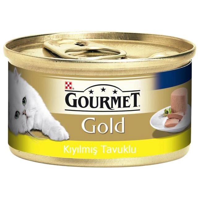 Gourmet Gold Tavuklu Kıyılmış Kedi Maması 85 Gr