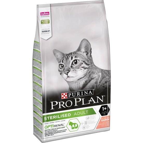 Pro Plan Somonlu Kısırlaştırılmış Kediler İçin  Kedi Maması 10 Kg