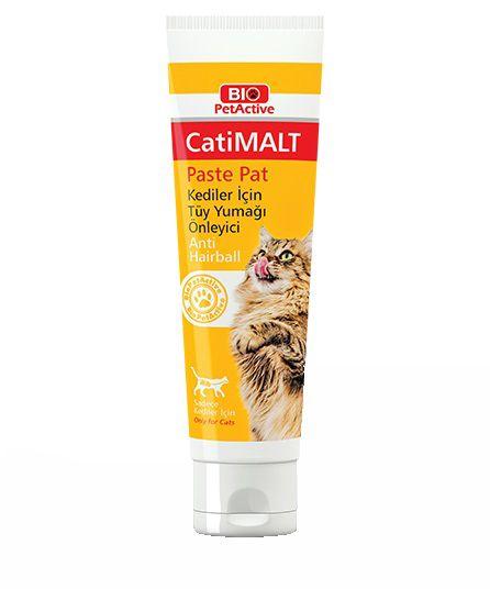 Bio PetActive CatiMalt Kediler için Tüy Yumağı Önleyici 25 ML