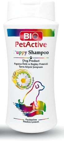 Bio Pet Active Papatya Özlü Yavru Köpek Şampuanı 400 ML