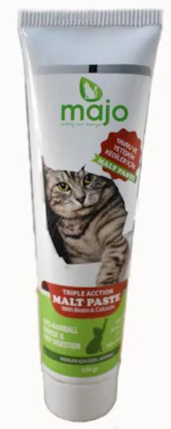 Majo Kedi Malt Macunu Kedi Tüy Yumağı Önleyici 100 ML