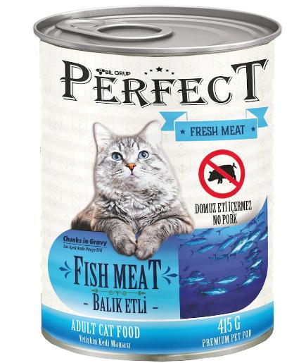 Perfect Balık Etli Kedi Konservesi 415 Gr