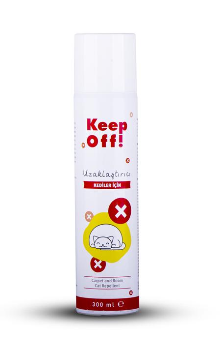 Keep Off İç Mekan Kedi Uzaklaştırıcı Sprey 300 ml