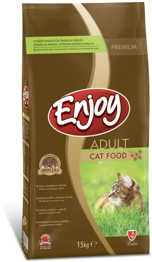 Enjoy Tavuk Etli Yetişkin Kedi Maması 1 Kg Açık