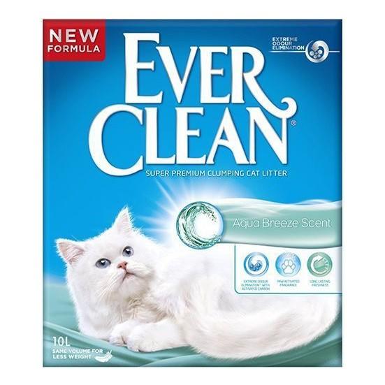 Ever Clean Aqua Breeze Topaklaşan Kedi Kumu 10 Lt